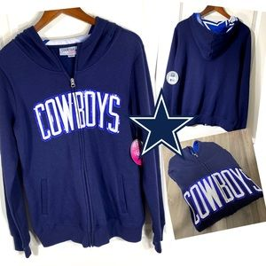 Officially Licensed Dallas Cowboys Sequin Hoodie